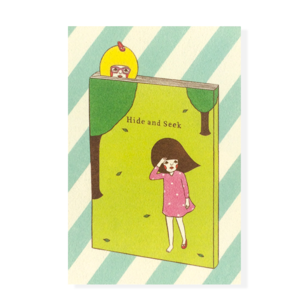 Hide and Seek Postcard