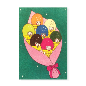 Ice Cream Bouquet Postcard