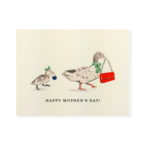 Mother Duck Card