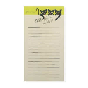 Scratch It Off Notepad
